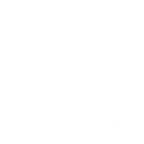 Outline of person with tick inside circle icon in white with transparent background