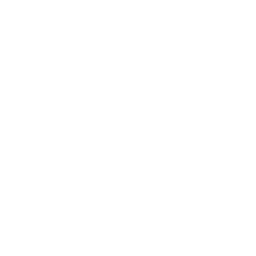 Tick list icon in white with transparent background