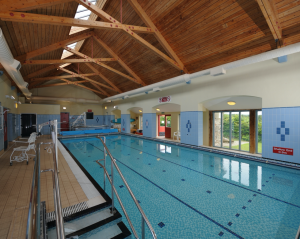 Swimming pool facility at Exmoor Calvert Trust.