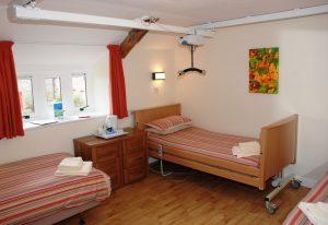 Bedroom at Calvert Trust Exmoor.
