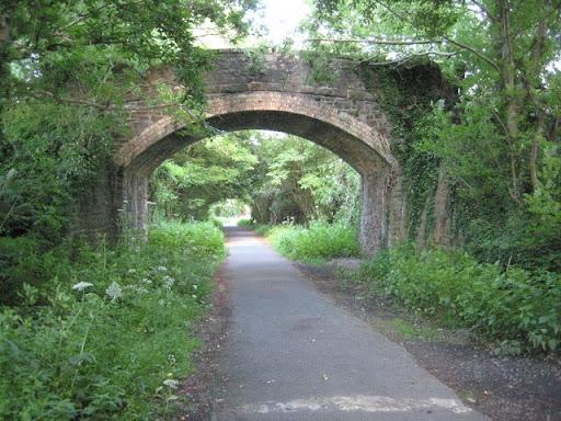 Two stone bridges on the Tarka Trail