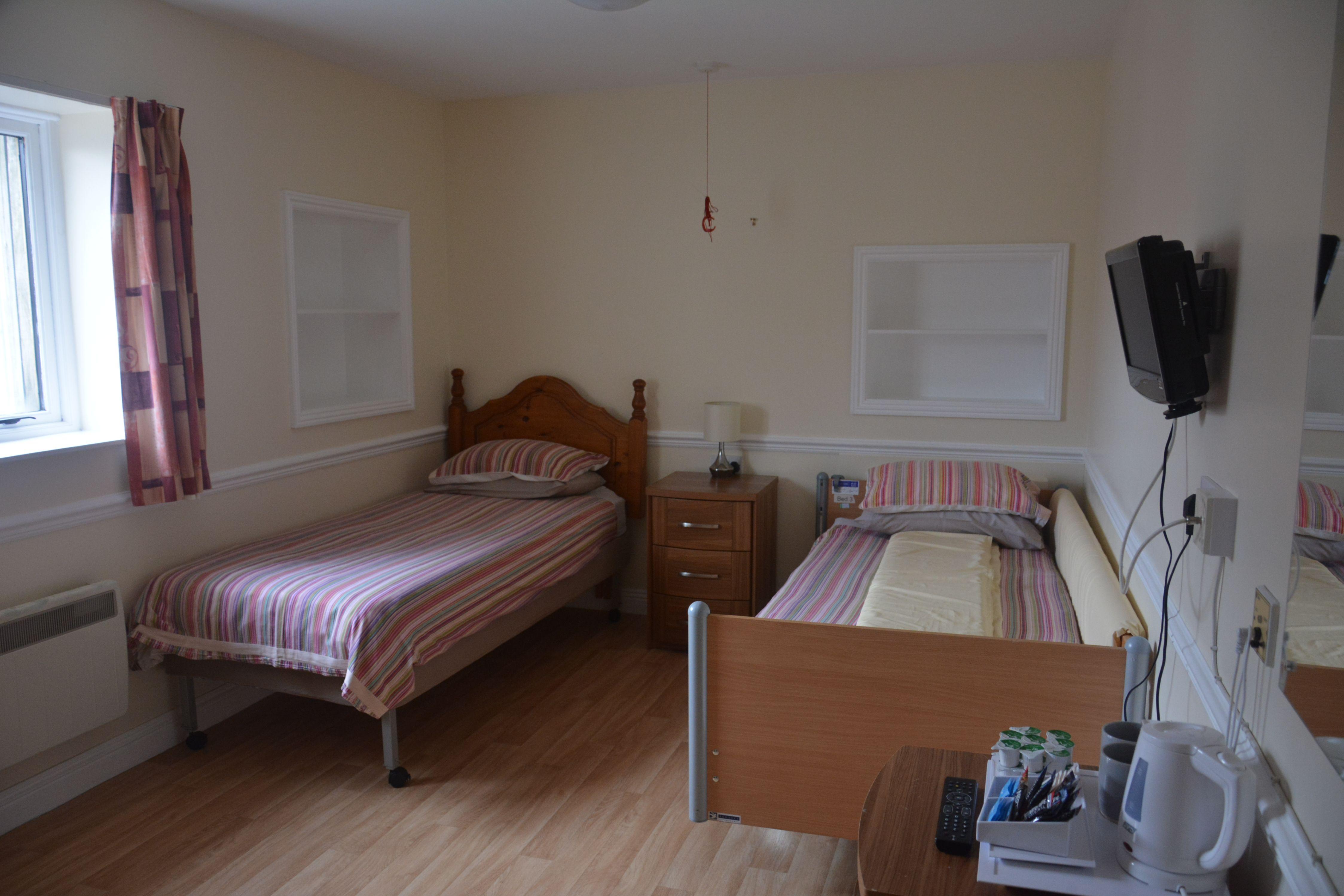 A bedroom at Calvert Trust Exmoor